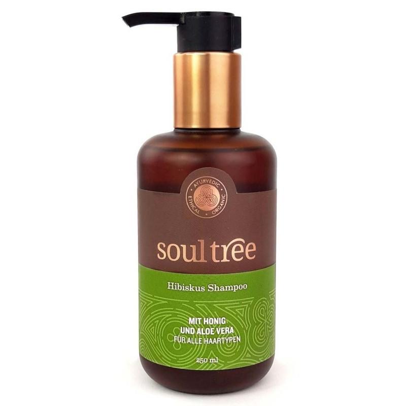 Ajurvedinis šampūnas su kinrožėmis, medumi ir alaviju, SoulTree, 250ml