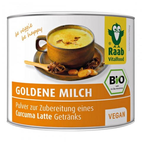 Ekologiški gėrimo milteliai Golden Milk, 70g