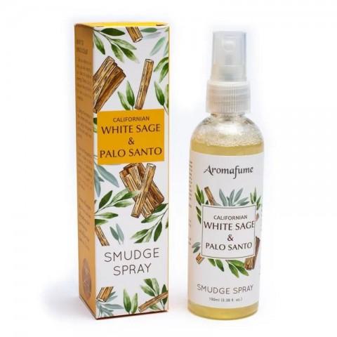 Purškiamas namų kvapas White Sage & Palo Santo, Aromafume, 100ml