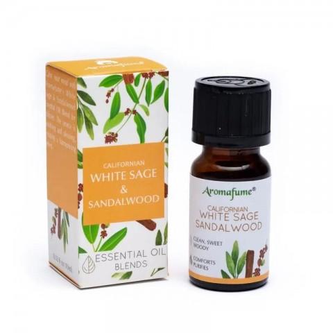 Eterinis aliejus White Sage & Sandalwood, Aromafume, 10ml