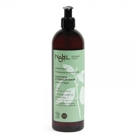 Ekologiškas šampūnas sausiems plaukams Aleppo 2in1, Najel, 500ml