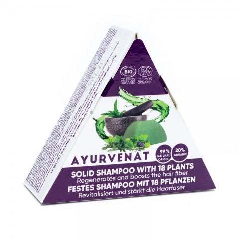 Ekologiškas kietasis šampūnas Ayurvenat, 50g