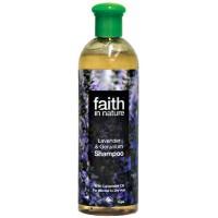 Šampūnas su levandomis ir snapučiais, Faith in Nature