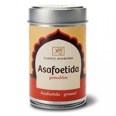 Asafetida (kvapioji ferula) su ožrage, malta, Classic Ayurveda, 70 g