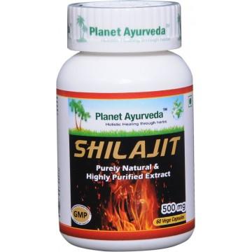 """Maisto papildas """"Mumijus (Shilajit)"""", Planet Ayurveda, 60 kapsulių"""