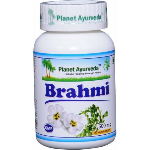 """Maisto papildas """"Brahmi"""", Planet Ayurveda, 60 kapsulių"""