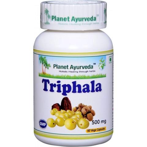 """Maisto papildas """"Triphala"""", Planet Ayurveda, 60 kapsulių"""