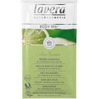 Vonios druska su verbenomis ir žaliosiomis citrinomis Lavera, 80 g